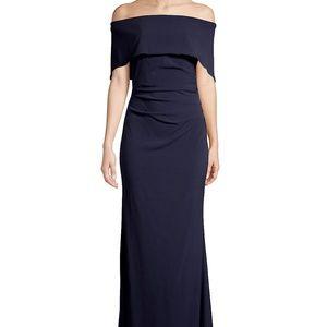 Vince Camuto Off-Shoulder Evening Gown